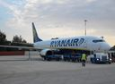 Ryanair in Araxos-Patras Airport, Ready to flight GPA-PFO